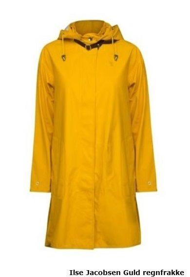 3818e64b Gul regnjakke – Den klassiske gule regnjakke er på mode igen!