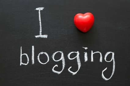 om os - I love blogging