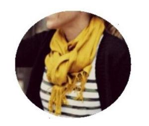 cardigan med halstørklæde