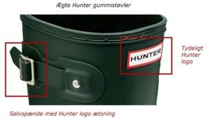 hunter logo front