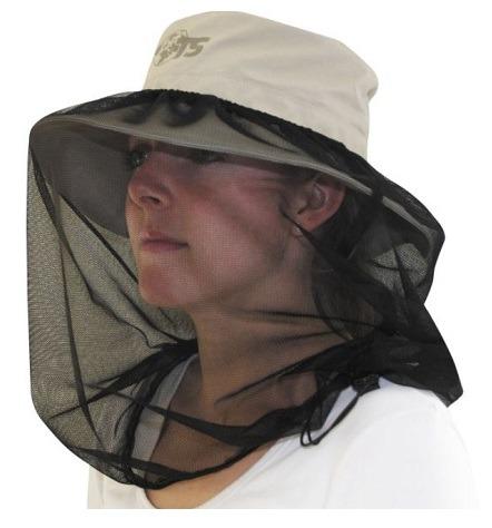 solhat med aftaglig myggenet