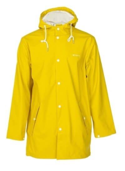 tretorn gul regnjakke